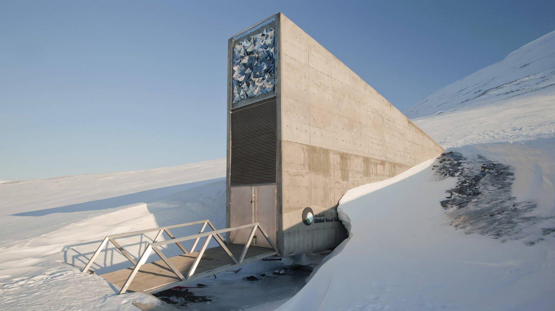 Weltweiter Saatgut-Tresor auf Spitzbergen (Foto: Imago, IMAGO / imagebroker)