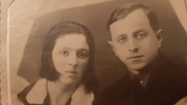 Victoria und Isaj Bondar - der verschollene Großvater der Autorin Julia Smilga