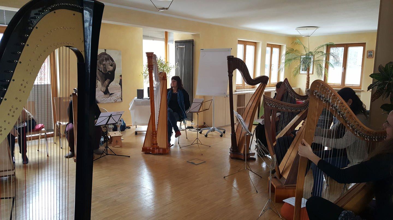 Uschi Laar referiert in dem Lehrgang Praktikumsvorbereitung 2017 in München