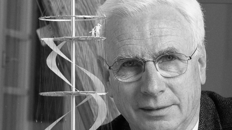 Der Stuttgarter Bauingenieur Jörg Schlaich