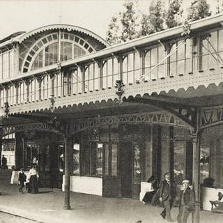 Bahnhof Johannesburg, 1903 (Foto: picture-alliance / Reportdienste, picture alliance/Mary Evans Picture Library)