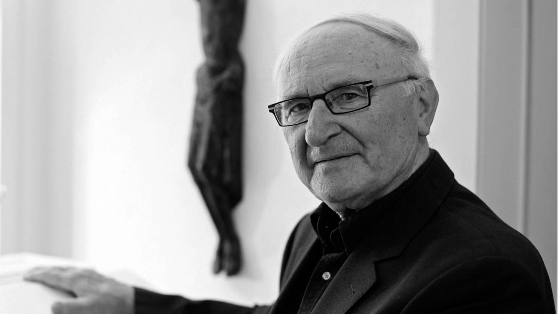 Der Theologe Johann Baptist Metz (Foto: dpa Bildfunk, Friso Gentsch/dpa)