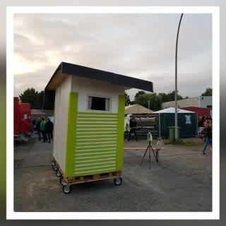 Ein fertiges Tiny House, gebaut von der Little-Home-Gruppe in Köln (Foto: https://little-home.eu/)