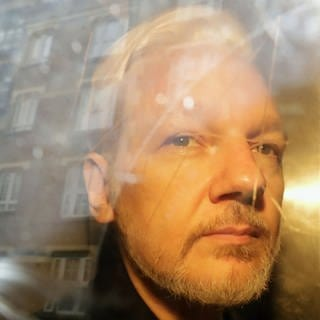 Julian Assange (Foto: picture-alliance / Reportdienste, picture alliance/AP Photo/Foto: Matt Dunham)