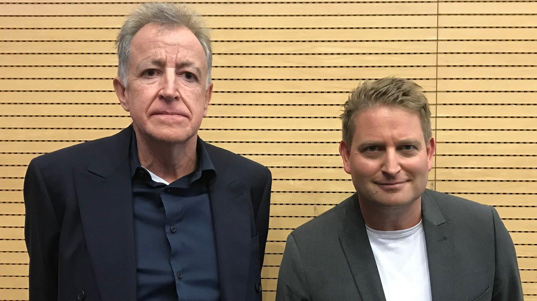 Der Autor Ernst-Wilhelm Händler und SWR2 Literaturkritiker Carsten Otte (Foto: SWR)