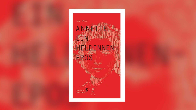 Cover zum Roman von Anne Weber: