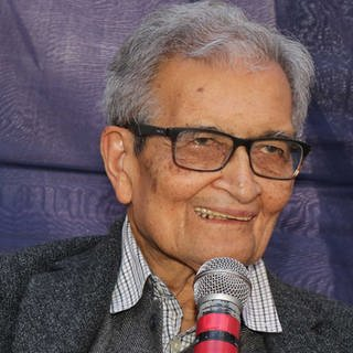 Nobel laureate Amartya Sen (Foto: Pressestelle, Picture alliance/Pacific press: Subhashis Basu)