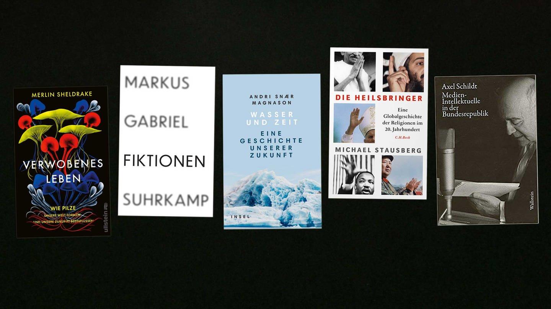 Alle Bücher des lesenswert Magazin vom 27.12.2020 (Foto: Pressestelle, Suhrkamp Verlag, Ullstein Verlag, Verlag C. H. Beck, Wallstein Verlag)