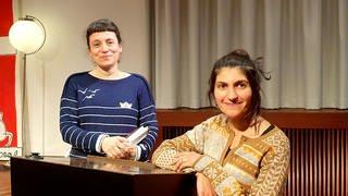 Katharina Borchardt und Shida Bazyar (Foto: ©Stefanie Stegmann)