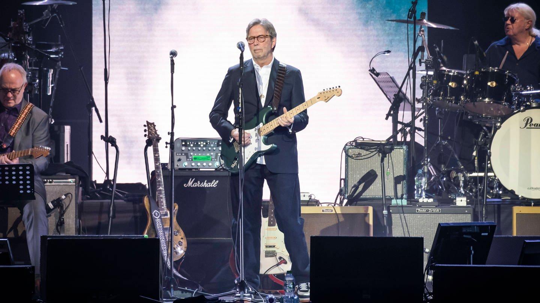 Eric Clapton während des