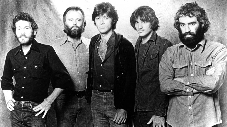 The Band, pop group: Levon Helm, Garth Hudson, Robbie Robertson, Rick Danko, Richard Manuel (Foto: Imago, United Archives International)