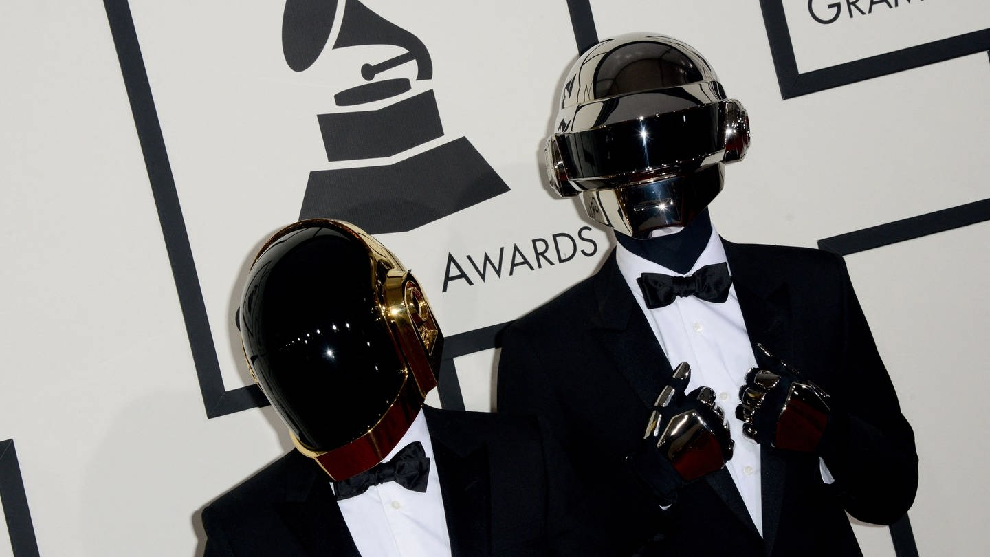 Guy-Manuel de Homem-Christo und Thomas Bangalter von Daft Punk (Foto: picture-alliance / Reportdienste, Hahn Lionel/ABACA)