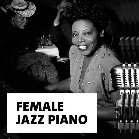 Jazz-Musikerin Mary Lou Williams spielt Klavier 1946 in New York (Foto: Imago, Cinema Publishers Collection)