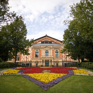 Das Festspielhaus in Bayreuth (Foto: picture-alliance / Reportdienste, Picture Alliance)