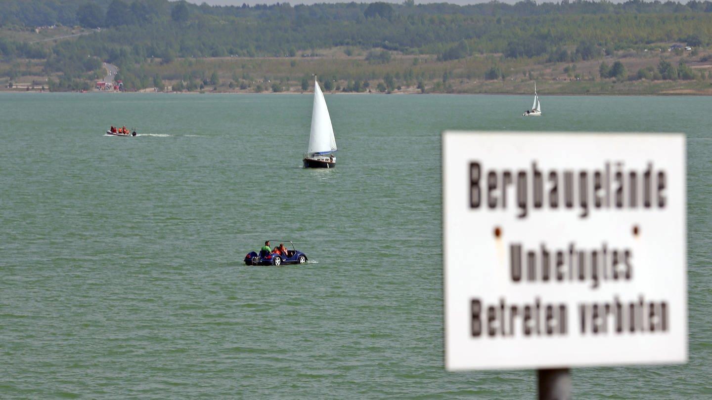 Störmthaler See bei Leipzig (Foto: picture-alliance / Reportdienste, Jan Woitas)