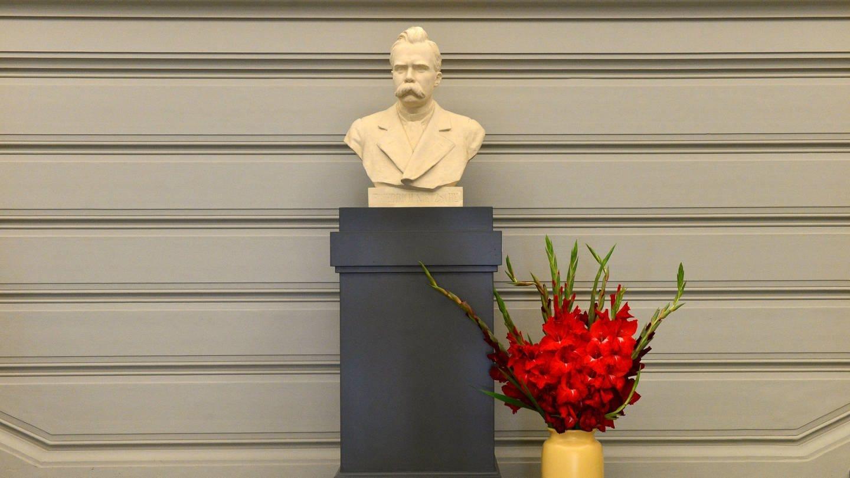 Büste Friedrich Nietzsche (Foto: picture-alliance / Reportdienste, Martin Schutt)