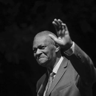Pianist McCoy Tyner (Foto: picture-alliance / Reportdienste, Luca Bruno)