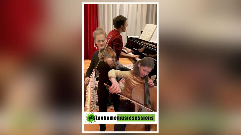 Frank Dupree und Gäste musizieren bei #StayHomeMusicSessions (Foto: Frank Dupree)