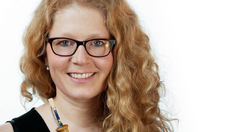 Die Barockoboistin Xenia Löffler (Foto: Pressestelle, Daniel Maria Deuter)