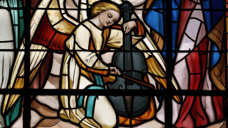 Kirchenfenster in Annecy (Foto: picture-alliance / Reportdienste, Fred de Noyelle)