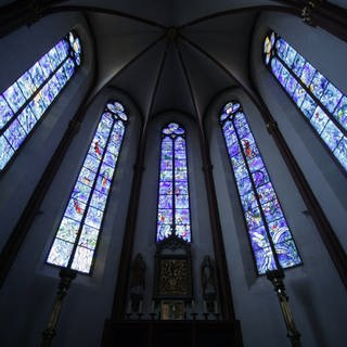 Chagall-Fenster in Sankt Stephan in Mainz (Foto: picture-alliance / Reportdienste, Picture Alliance)