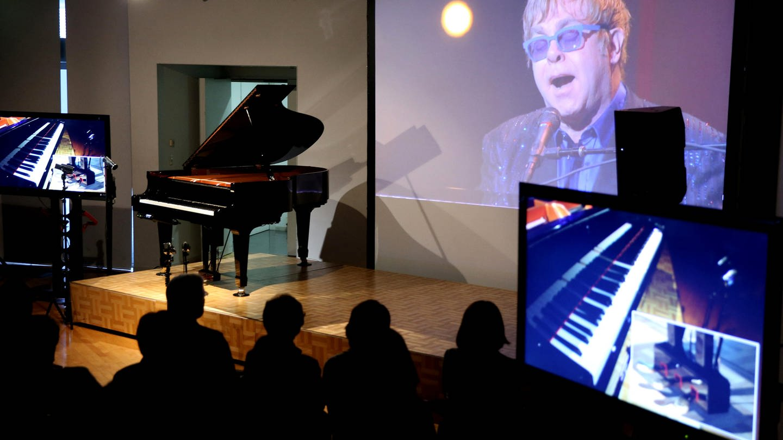 Elton John am Disklavier