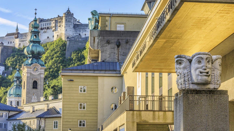 Salzburg, Haupteingang zum Großen Festspielhaus (Foto: picture-alliance / Reportdienste, picture alliance/APA/picturedesk.com/Franz Pritz)