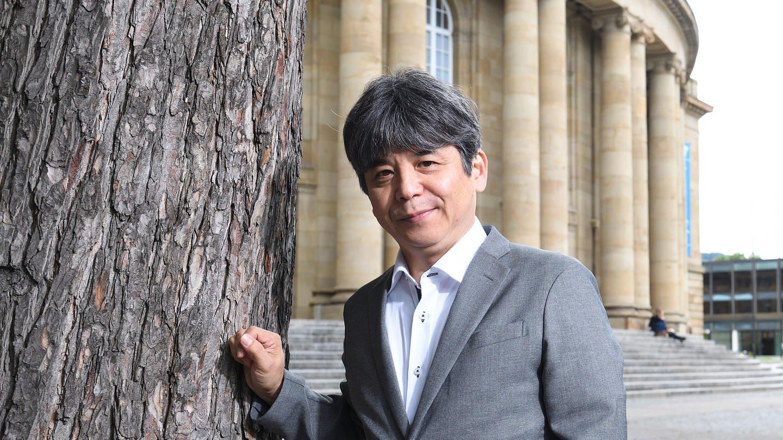 Komponist Toshio Hosokawa (Foto: picture-alliance / Reportdienste, Bernd Weißbrod/dpa)
