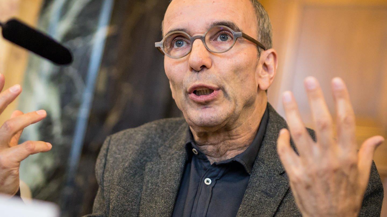 Jossi Wieler, 2018 als Intendant der Staatsoper Stuttgart, (Foto: picture-alliance / Reportdienste,  Christoph Schmidt)