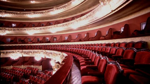 Gran Teatre del Liceu in Barcelona (Foto: picture-alliance / Reportdienste, Heritage-Images)