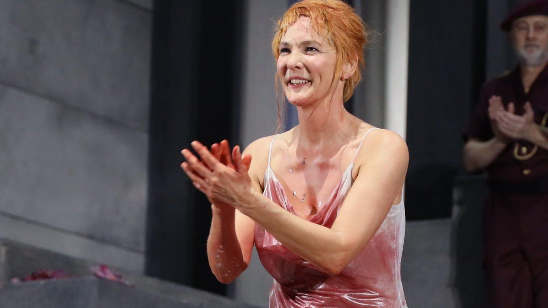 Marlis PETERSEN als Salome am Theater an der Wien (Foto: picture-alliance / Reportdienste, Karl Schöndorfer)