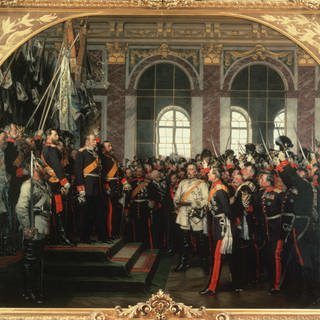 Kaiserproklamation zu Versailles 1871 (Foto: picture-alliance / Reportdienste, picture alliance / akg-images | akg-images)