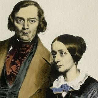 Clara und Robert Schumann um 1847 (Foto: picture-alliance / Reportdienste, picture-alliance - akg-images)