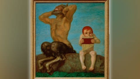 'Dissonzanz' von Franz von Stuck, 1910 (Foto: picture-alliance / Reportdienste, picture alliance / akg-images | akg-images)