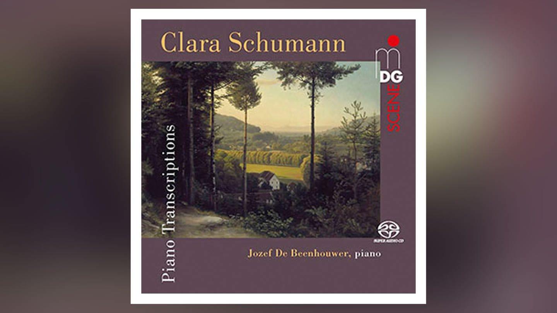CD-Cover: Clara Schumann - Klaviertranskriptionen (Foto: Pressestelle, MDG)