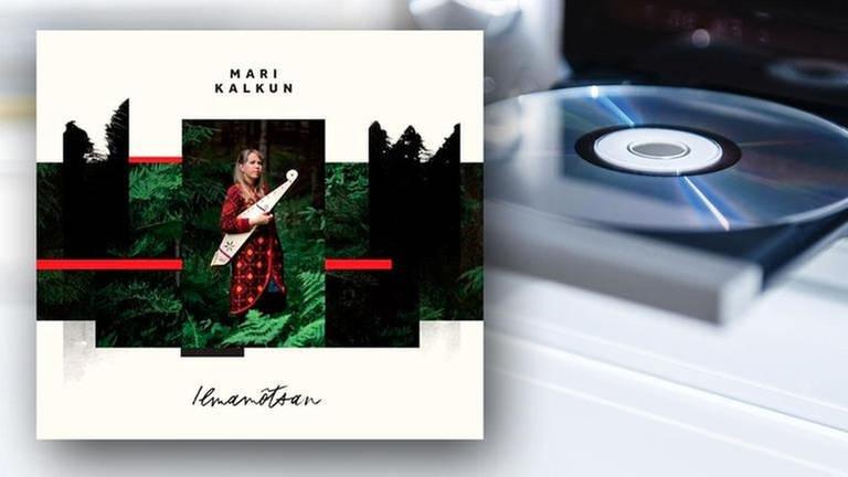 CD-Cover: Mari Kalkun -  Ilmamõtsan (Foto: SWR, Nordic Notes (Broken Silence)  -)