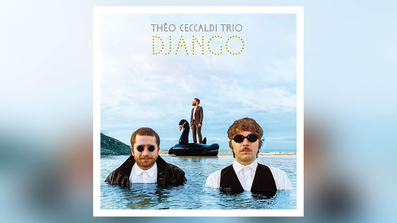 CD-Cover: Theo Ceccaldi Trio (Foto: Pressestelle, Full Rhizome)