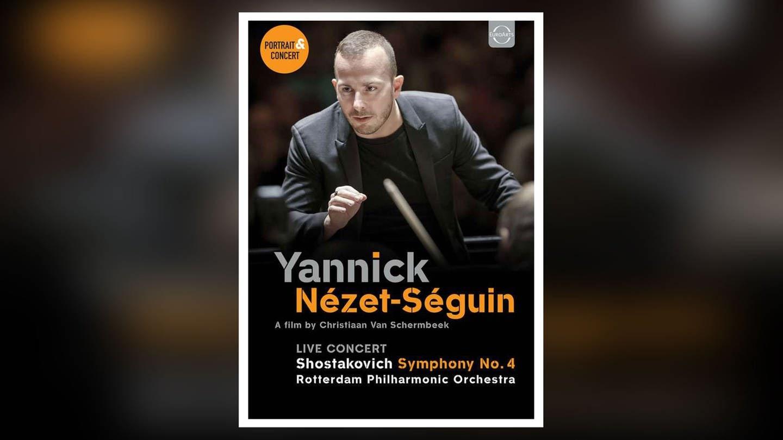 DVD- Cover Yannick Nézet-Séguin Dokumentation und Konzert (Foto: Pressestelle, EuroArts)