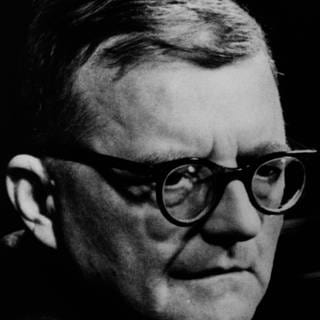 Der Komponist Dmitri Schostakowitsch (Foto: Imago, imago/United Archives International)