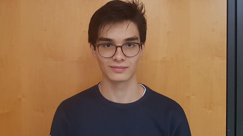 Der Schüler und Komponist Maxime Gemünd (Foto: SWR, SWR)