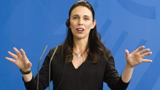 Jacinda Ardern 2018 in Berlin (Foto: picture-alliance / Reportdienste, Markus Schreiber)