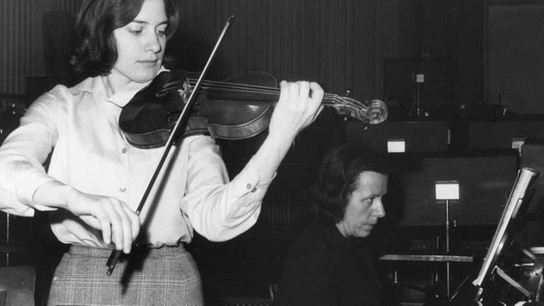 Maria Bergmann, Hauspianistin des SWF 1946-1982 (Foto: SWR, SWR/Castagne -)