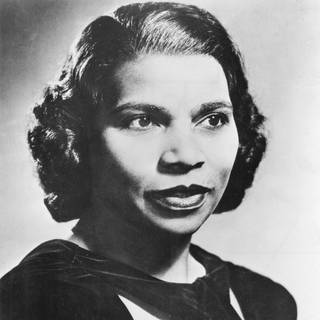 Marian Anderson (1899-1993) Amerikanische Altsängerin (Foto: Imago, imago images / United Archives International)