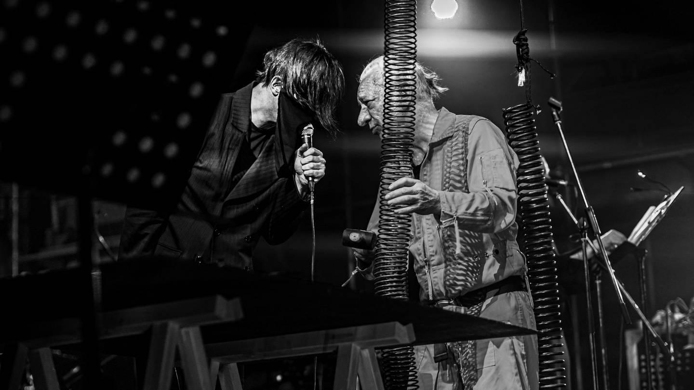 FM Einheit und Teodor Currentzis gemeinsam beim Diaghilev-Festival (Foto: Pressestelle, Gyunai Musaeva)