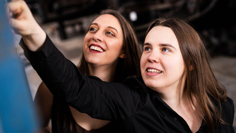 new SWR2 New Talents Esther Valentin (Gesang) und Anastasia Grishutina (Klavier) (Foto: SWR)