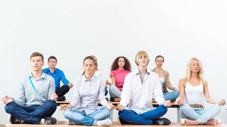 Meditieren ist wieder