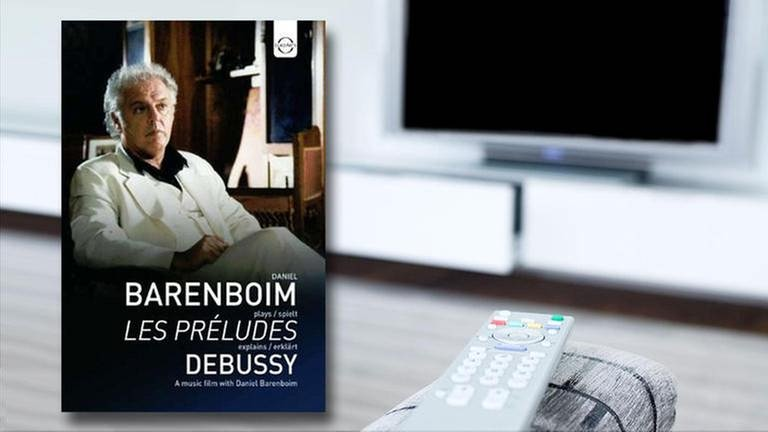DVD-Cover Barenboim plays Debussy (Foto: SWR, EuroArts -)