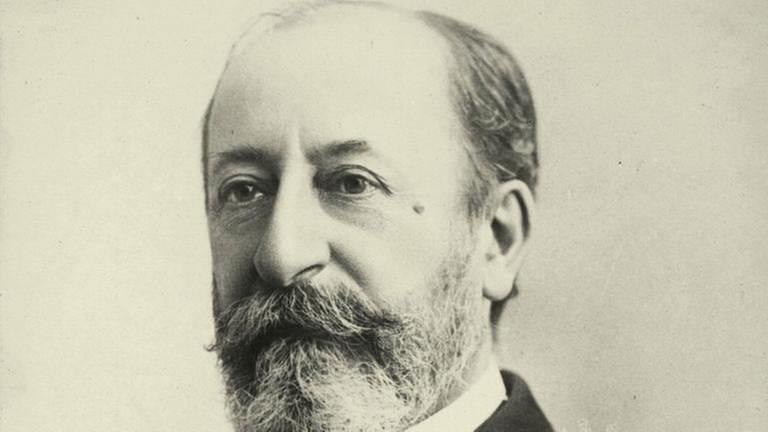 Saint-Saens, Camille franz. Komponist