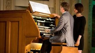 Olivier Latry, Organist (Foto: picture-alliance / Reportdienste, picture alliance / Frank Duenzl - Frank Duenzl)