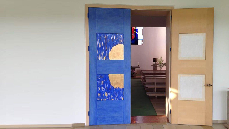Tür zur Klosterkapelle